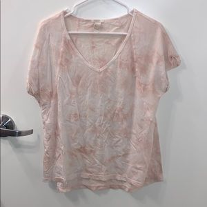 Forever 21 pink tie dye T-shirt